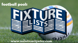 classified football pool fixtures
